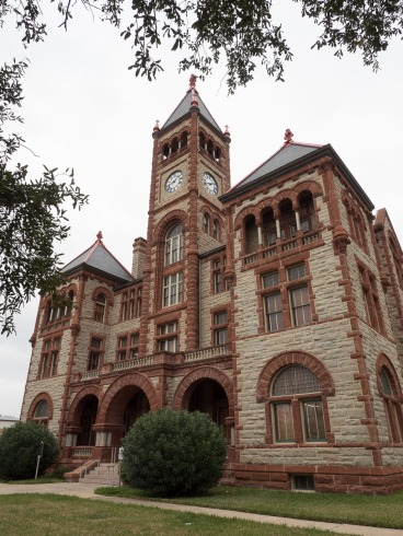 DeWitt County Courthouse in Cuero, TX