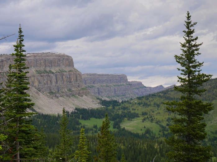 The Chinese Wall in the Bob Marshall Wilderness .